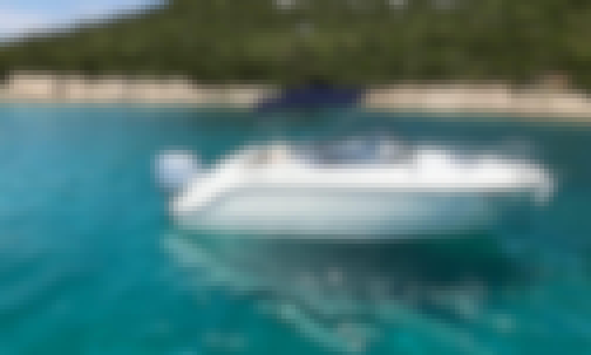 Quicksilver 595 Cabin Cruiser for 6 People in Tisno, Croatia