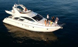 Azimut 60 Flybridge Motor Yacht Charter in Marina del Rey