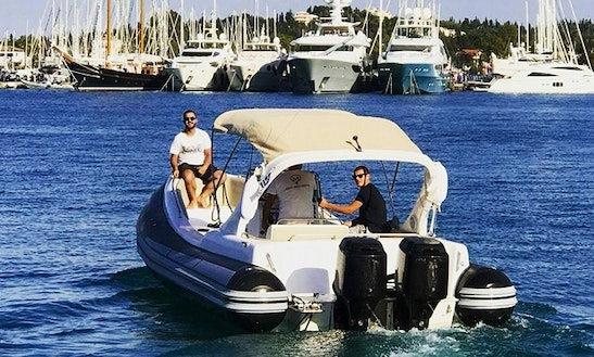 Stinger Xs Rib Rental In Kontokali, Greece For Up To 12 Person