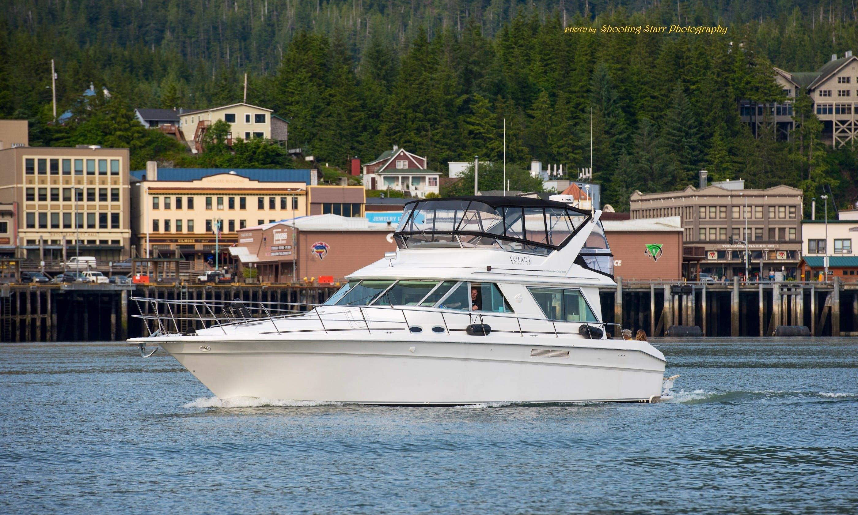 Motor Yacht sleep aboard rental in Ketchikan, Alaska