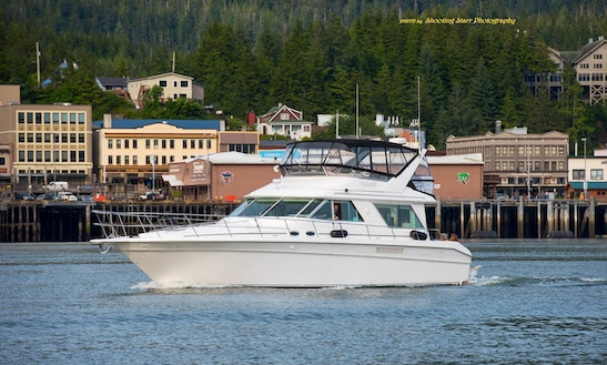 Motor Yacht Sleep Aboard Rental In Ketchikan