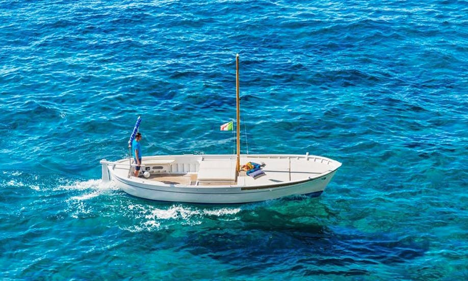 Charter a Sailing Dinghy in Positano, Italy