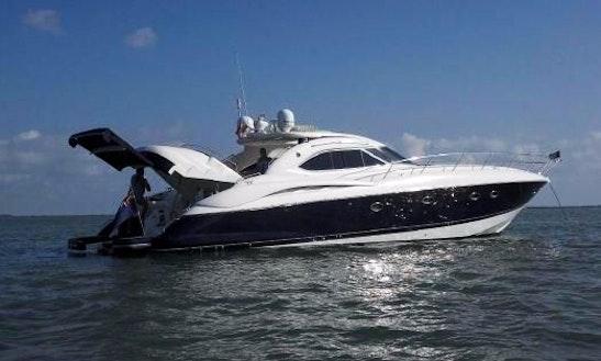 Charter A 60' Sunseeker Predator - Vip Barbados Excursions!