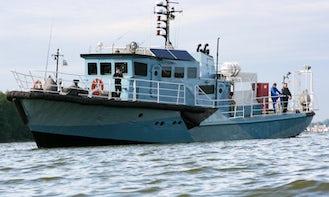 Enjoy Fishing and Diving in Klaipėda, Lithuania on Trawler