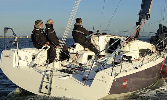 Charter 35' Sun Fast Cruising Monohull In Santo Stefano Al Mare, Italy