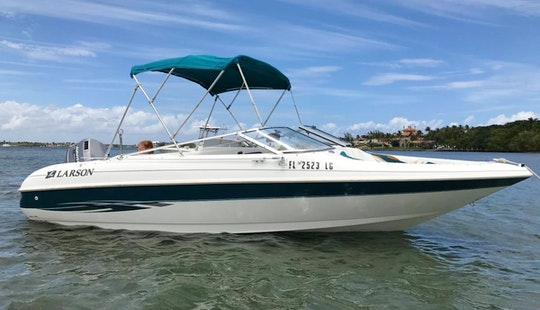 20' Larson Bow Rider For Rent In Miami - Summer Specials