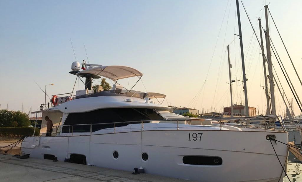 Experience the best of Lefkada, Greece - Charter this 53' Magellano Yacht!