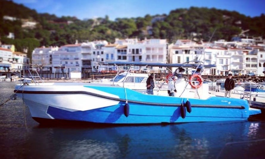 Boat tour from Fornells, Spain