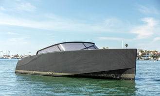 40' VanDutch Ultra Luxury Day Yacht in Newport Beach for Day Parties, Birthdays, Engagements - Its Perfect