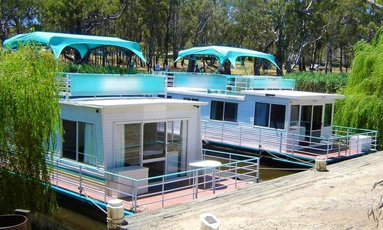 Hire Bounty Houseboat In Deniliquin, New South Wales