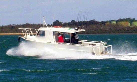 Western Port Fishing Charter With Captain Rob In Victoria, Australia