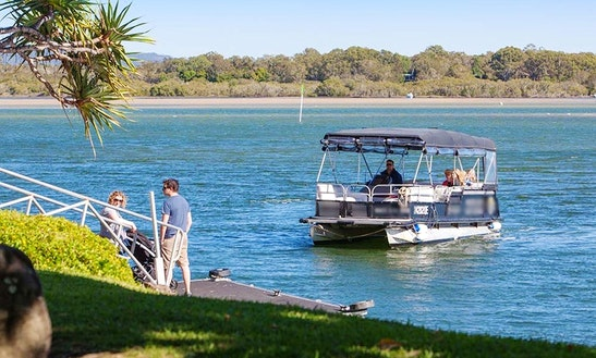Pontoon Water Taxi & Private Charter In Noosa Heads, Queensland, Australia