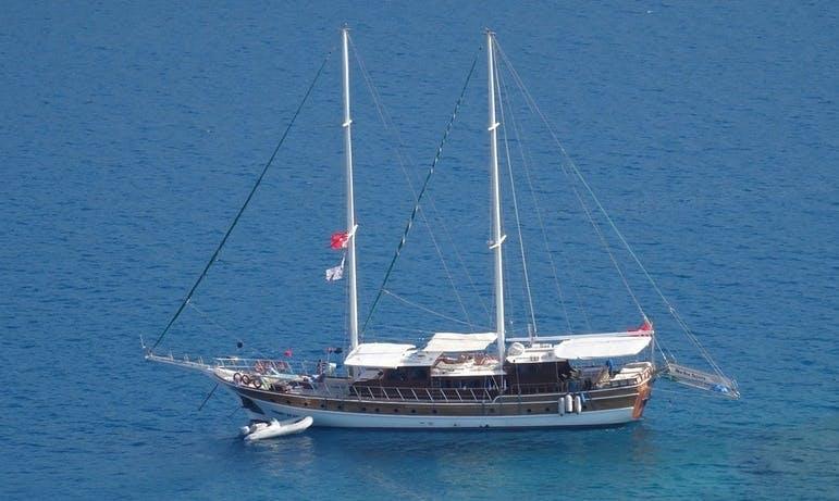 Charter 98' Med Sea ES Canada Gulet in Muğla, Turkey
