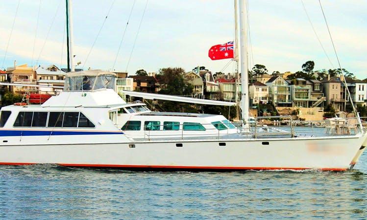 """Harbour Cruises on the """"Aussie Venture"""" Catamaran in Australia"""