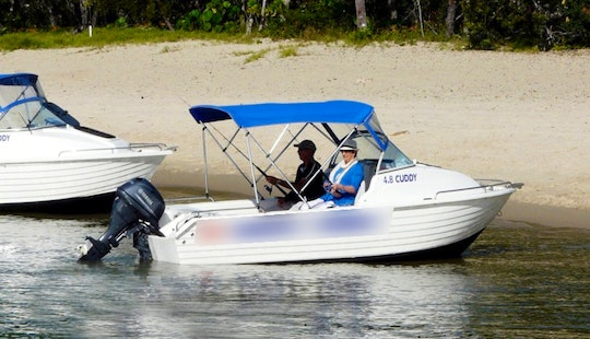 Enjoy Noosaville, Australia On 16' Cuddy Cabin