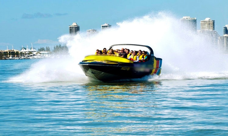 Amazing, exhilarating, top speed Jet boat ride in Main Beach