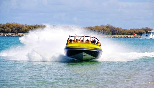 Broadwater Adventure – Premium Jet Boat Ride In Main Beach, Australia