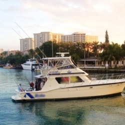 52ft bolo team s fore hatteras yacht charter in for Deerfield beach fishing charter