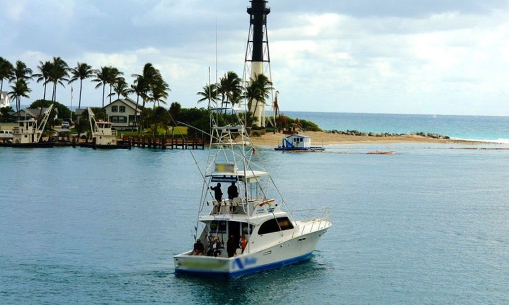 45ft intoxication sportfisherman boat fishing charter in for Pompano beach fishing charters