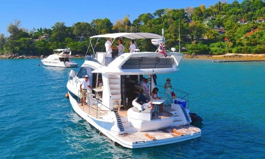 Amazing 14 Person Motor Yacht Charter In Tambon Mai Khao, Thailand
