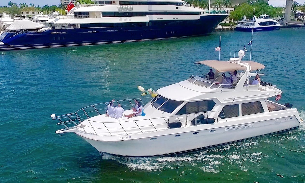 "60ft luxury yacht ""Moonlighter"" in Fort Lauderdale, FL"