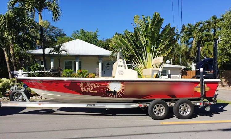 Fishing Charter On 22' Pathfinder Center Console In Islamorada, Florida (With Captain Only)