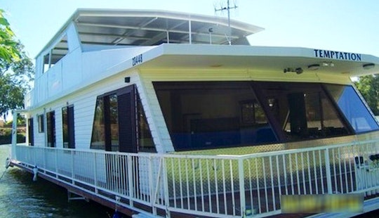 Rent A Murray Darling 3 Houseboat In Wentworth, Australia