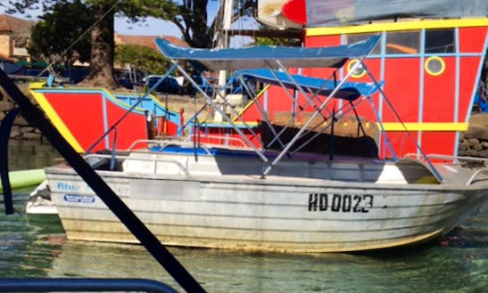 Rent A Yamaha Powered Boat For 8 People In Brunswick Heads, Australia