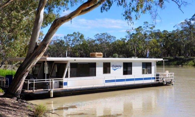 Rent Osprey Houseboat in Paringa, Australia