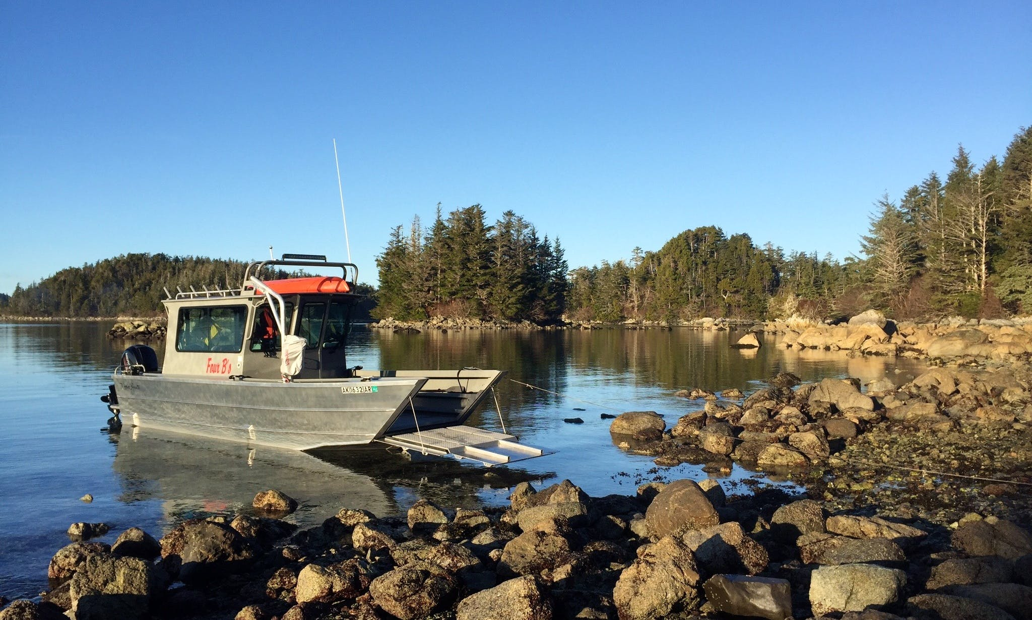 Enjoy Wildlife Tours On 26' Passenger Boat In Sitka, Alaska