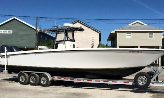 Fishing Charter On 36' Contender Boat In Venice, Louisiana