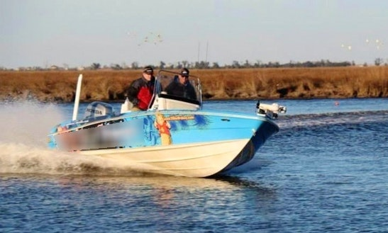 24' Center Console Fishing Boat In Louisiana, United States