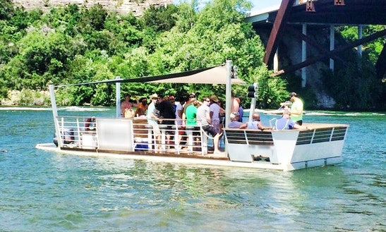 Charter 31 Foot 'la Barge' Party Boat In Austin, Texas - Lake Austin!