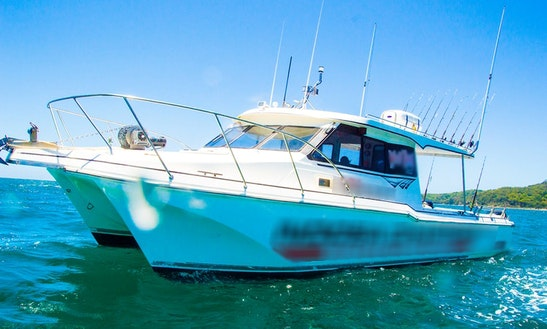 Charter 39' Sport Fisherman In Noosaville, Australia