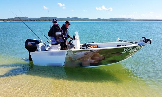 Enjoy Fishing In Redland Bay, Queensland With Captain Sean