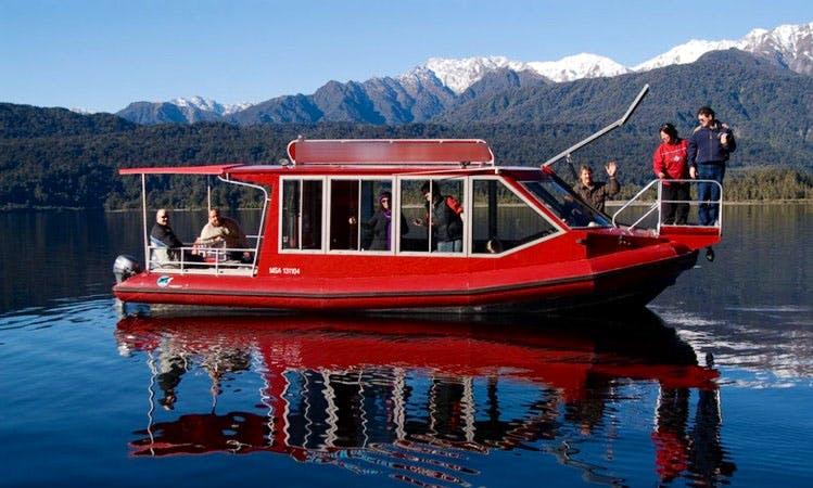 'Hanna-K' Boat Scenic Tours & Fishing in Lake Mapourika