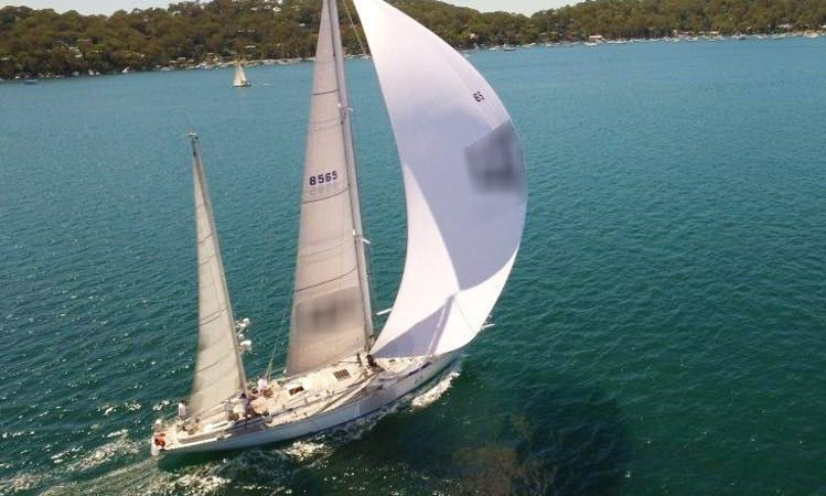 Charter Cruising Monohull in Darling Point, New South Wales