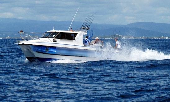 Captained Fishing Charter In Main Beach, Australia