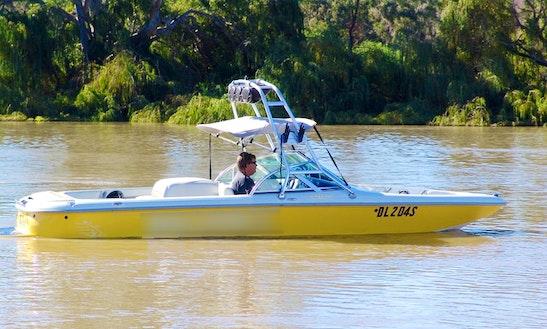 Bowrider Boat Hire In Ettrick