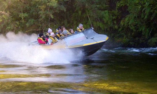 Jet Boat Adventures On The Wairaurahiri River