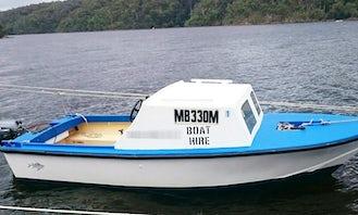 Enjoy 18' Boat Hire in Mallacoota, Victoria