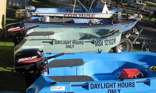 Hire Self Drive Powerboats In Johnsonville, Australia