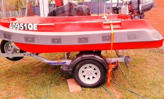 Charter On Dinghy Polycraft 3m Tuff Tenders From Moreton Bay, Queensland