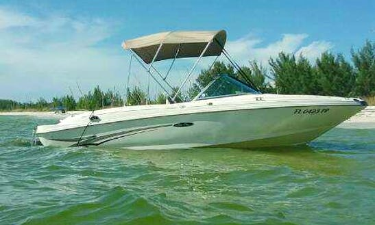 Boca Grande, Placidia, Englewood, Charlotte Harbor Can Deliver Bowrider Rental
