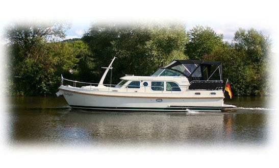 Charter 36' Sunlight Linssen Grand Sturdy 34.9 Ac Motor Yacht In Saarlouis, Saarland