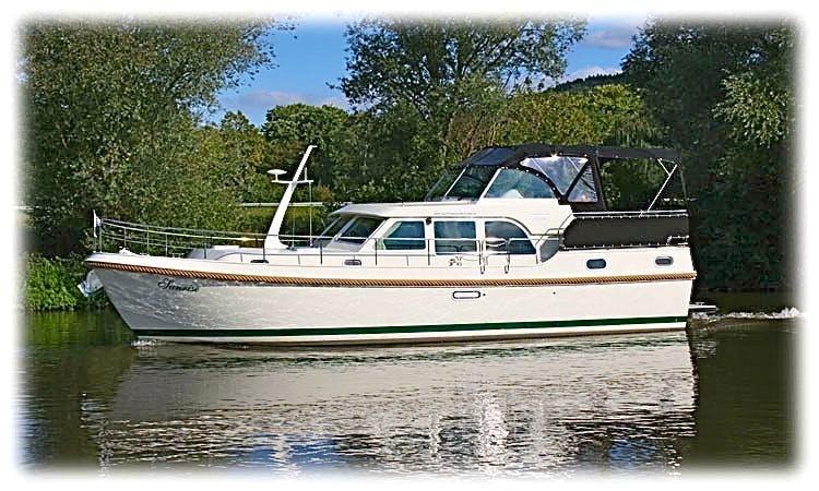 Charter 42' Sunshine Linssen Grand Sturdy 40.9 AC Motor Yacht in Saarlouis, Saarland