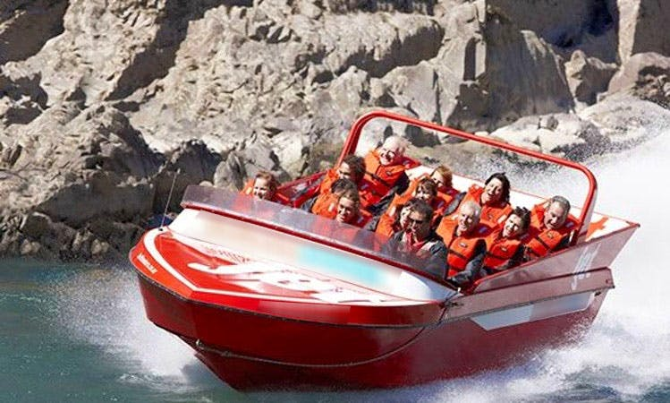 Jet Boat Tours in Tekoa Range, New Zealand