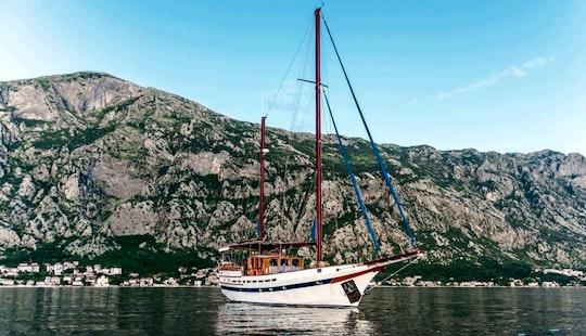 Charter 59' Dream Island Gulet In Tivat, Montenegro