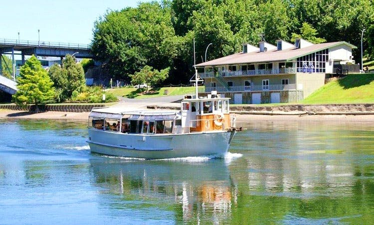 Scenic Boat Cruise in Hamilton, New Zealand