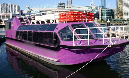"""Enjoy 80' """"fortune Favours The Brave"""" Charter In  Melbourne, Victoria"""